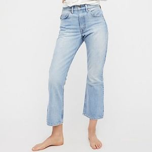 Levi's 517 Bootcut Cropped High Rise Jean's